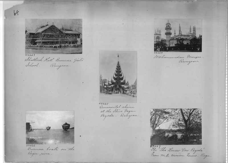 Mission Photograph Album - Burma #1 page 0064