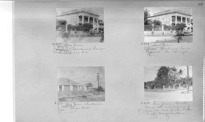 Mission Photograph Album - Puerto Rico #2 page 0115