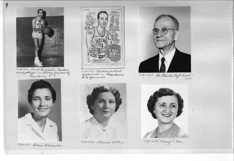 Mission Photograph Album - Portraits #10 Page 0018