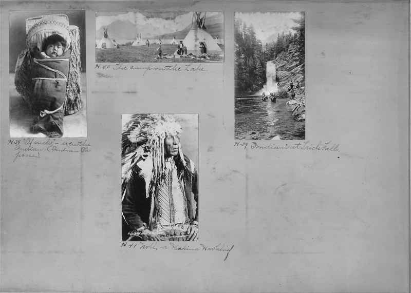 Mission Photograph Albums - Indians #1 page 0002