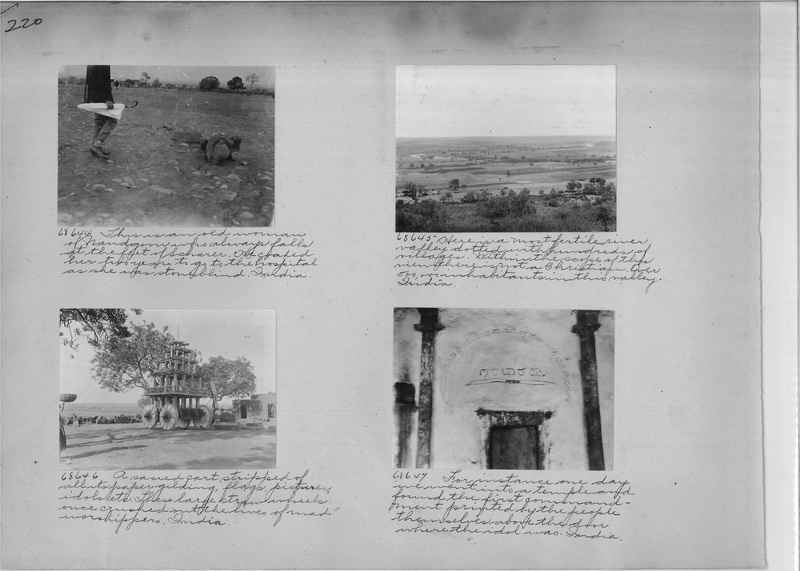 Mission Photograph Album - India #08 Page 0220