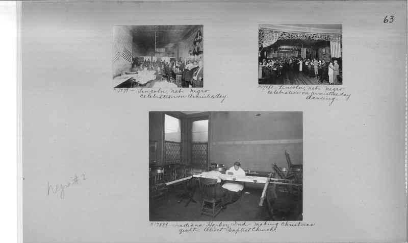 Mission Photograph Album - Negro #2 page 0063