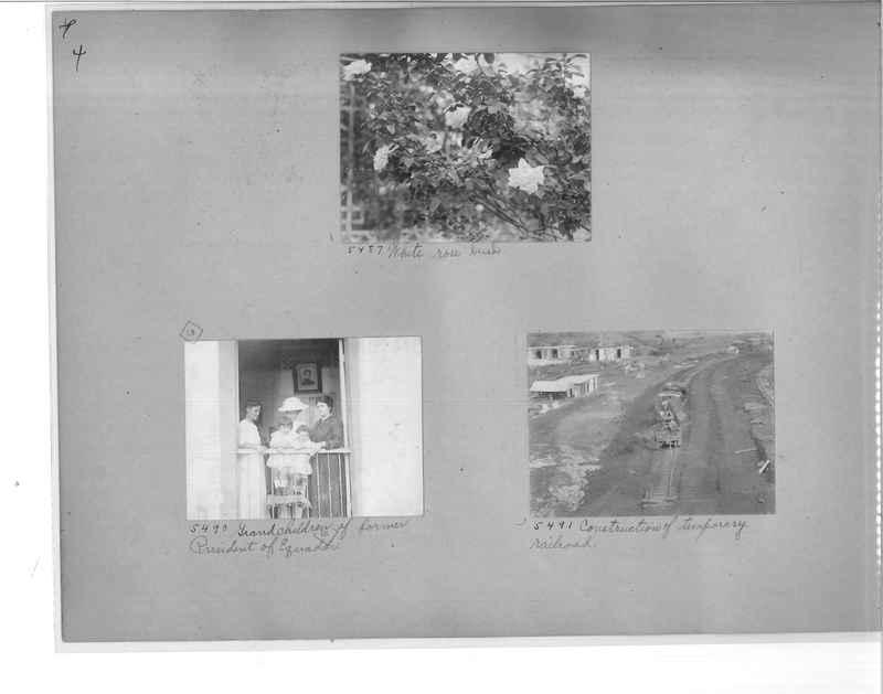 Mission Photograph Album - Panama #1 page  0004