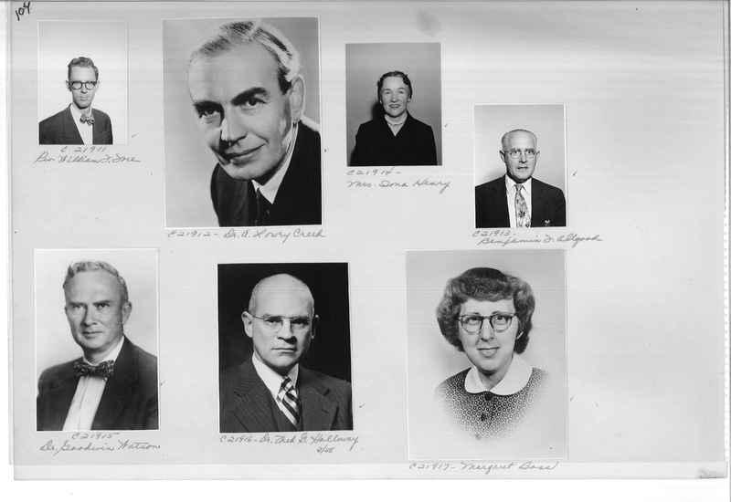 Mission Photograph Album - Portraits #10 Page 0104
