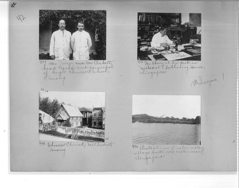 Mission Photograph Album - Malaysia #1 page 0042