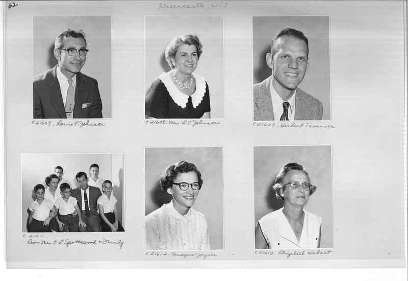 Mission Photograph Album - Portraits #10 Page 0062