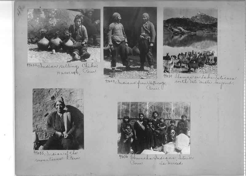 Misson Photograph Album - South America #8 page 0048