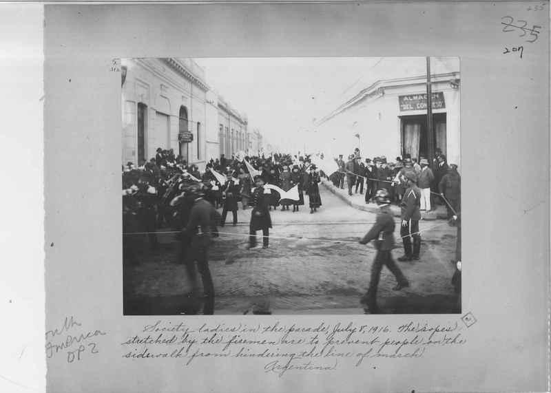 Mission Photograph Album - South America O.P. #2 page 0207