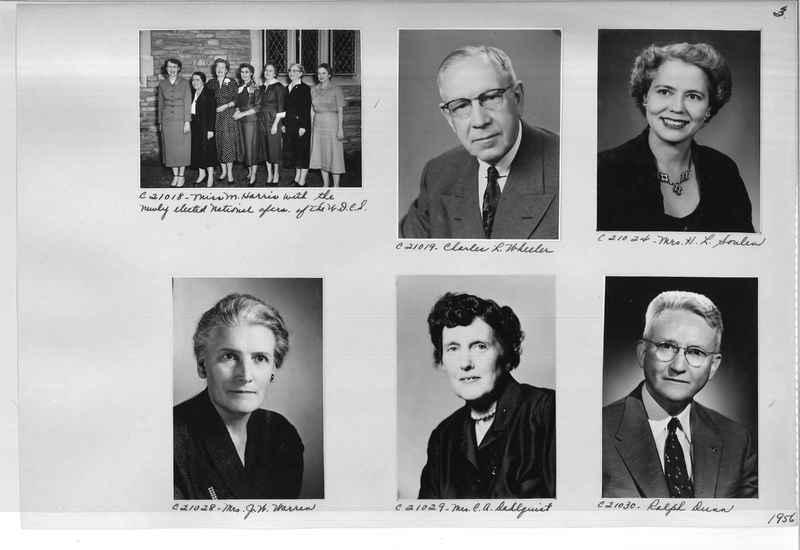 Mission Photograph Album - Portraits #10 Page 0003