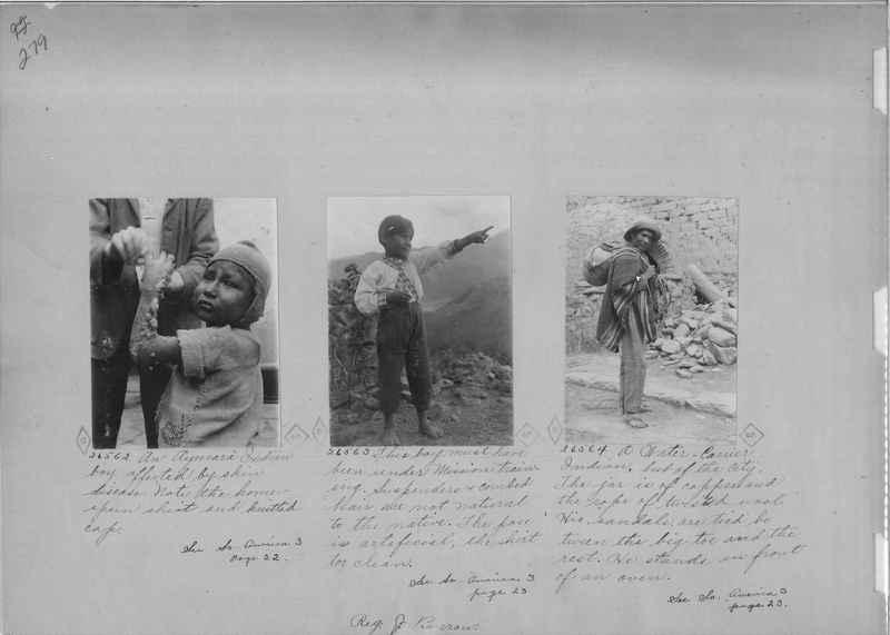 Mission Photograph Album - South America O.P. #2 page 0279