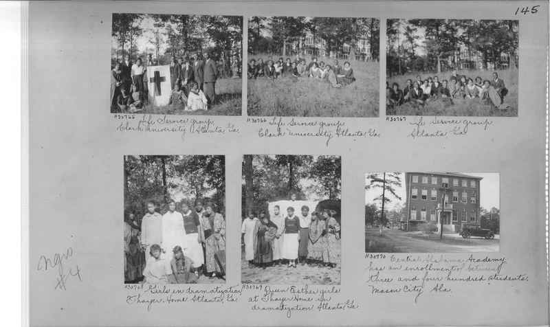 Mission Photograph Album - Negro #4 page 0145