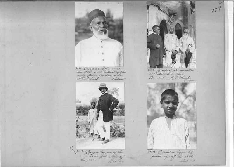 Mission Photograph Album - India #09 Page 0137