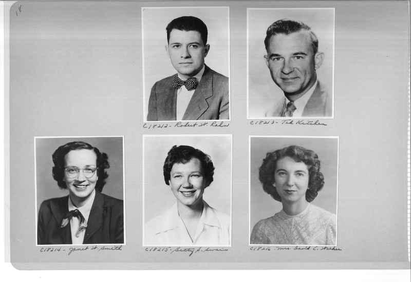 Mission Photograph Album - Portraits #08 Page 0018