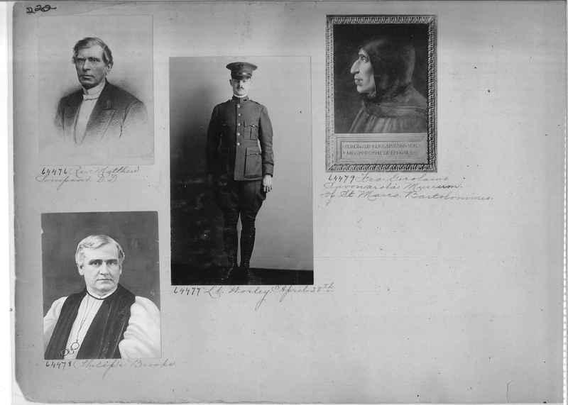 Mission Photograph Album - Portraits #1 page 0222