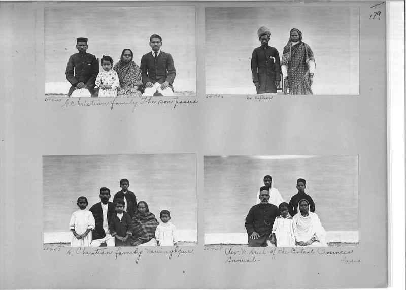 Mission Photograph Album - India #08 Page 0179
