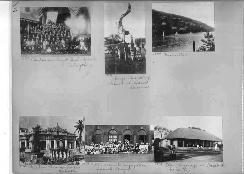 Mission Photograph Album - India #09 Page 0002