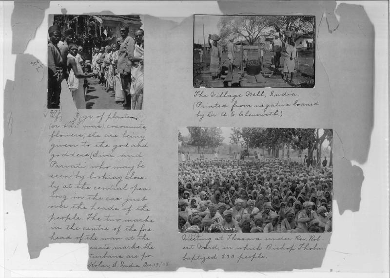 Mission Photograph Album - India - O.P. #02 Page 0226