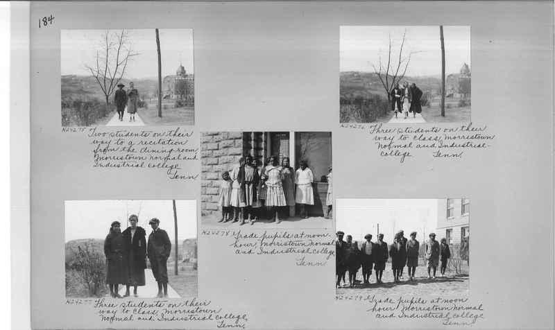 Mission Photograph Album - Negro #3 page 0184