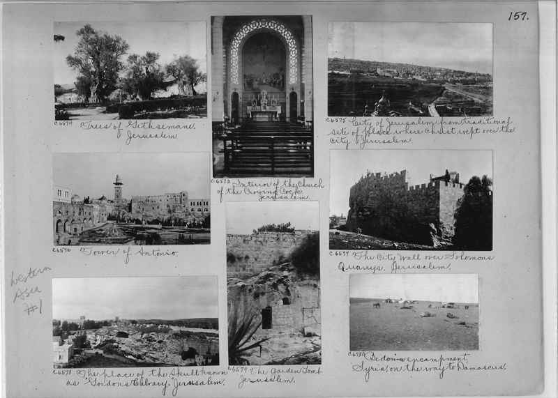 Mission Photograph Album - Western Asia - #01 page_0157