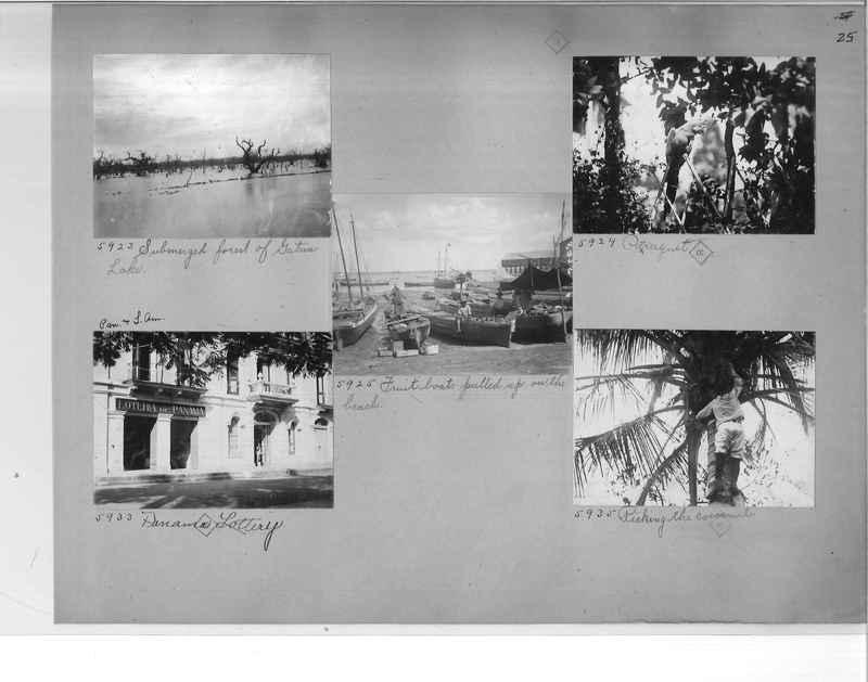 Mission Photograph Album - Panama #1 page  0025
