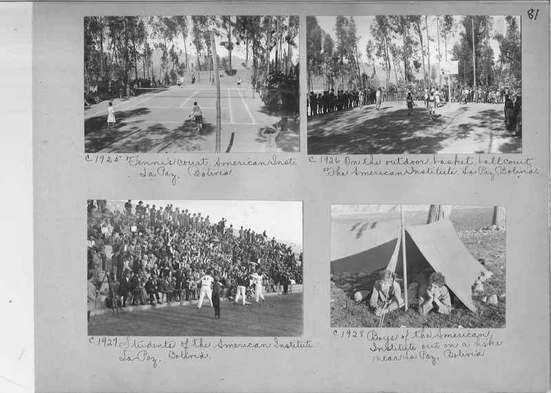 Misson Photograph Album - South America #8 page 0081