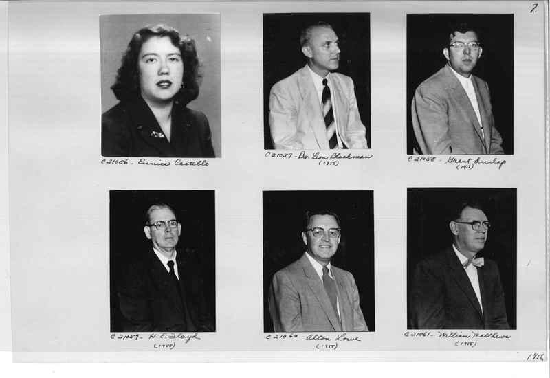 Mission Photograph Album - Portraits #10 Page 0007