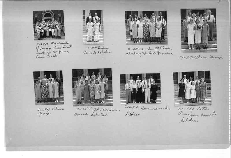 Mission Photograph Album - Portraits #13 Page 0007
