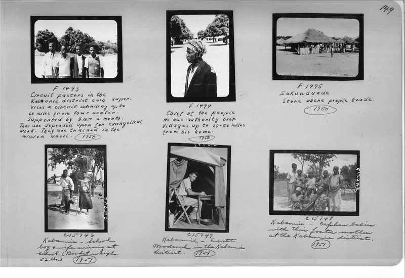 Mission Photograph Album - Africa #16 page 0149