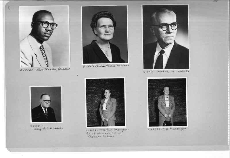 Mission Photograph Album - Portraits #08 Page 0004