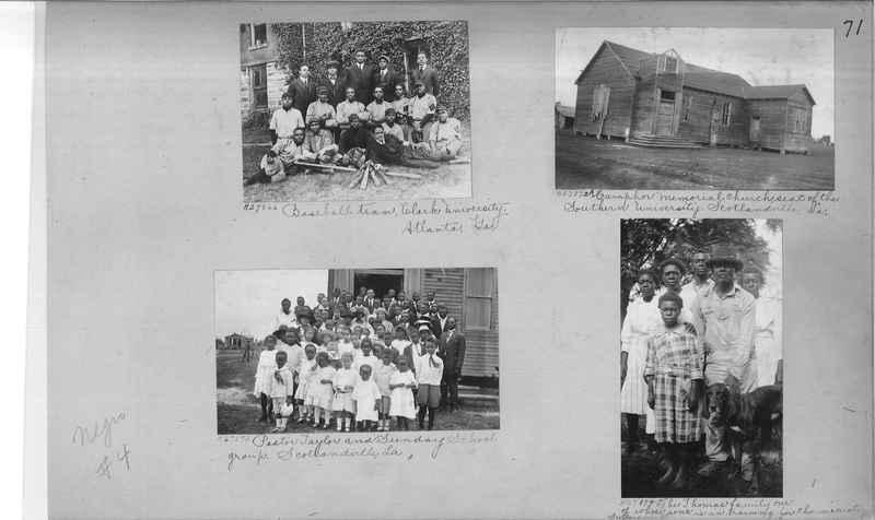Mission Photograph Album - Negro #4 page 0071