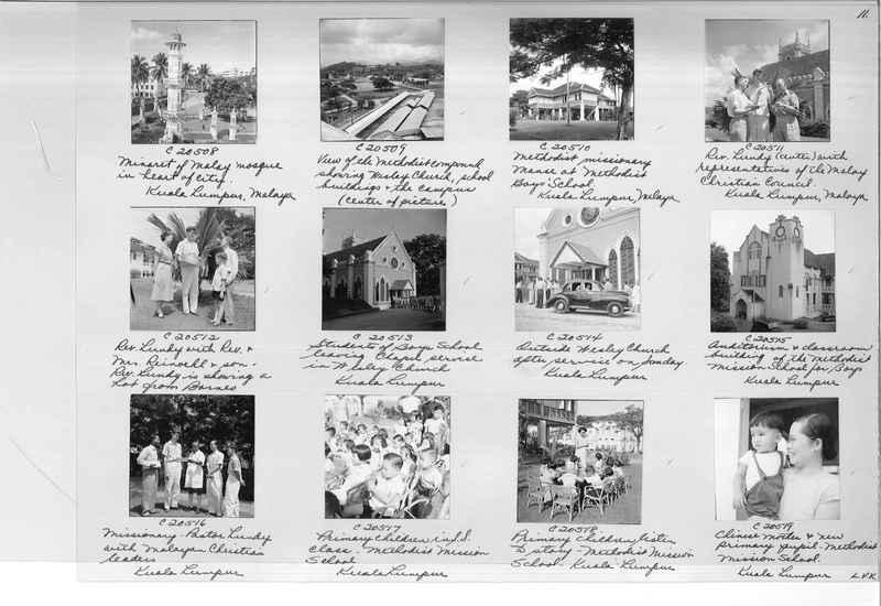 Mission Photograph Album - Malaysia #8 page 0011