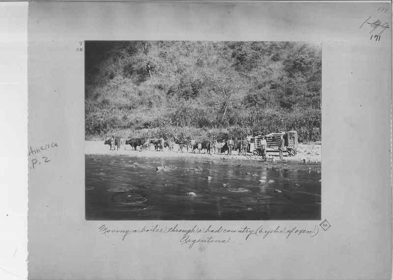 Mission Photograph Album - South America O.P. #2 page 0171