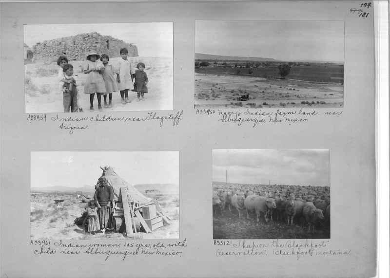 Mission Photograph Album - Indians #2 page_0181