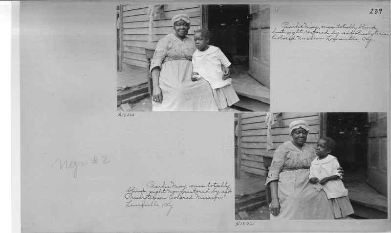 Mission Photograph Album - Negro #2 page 0239