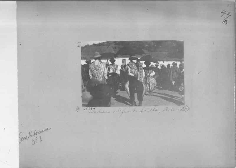 Mission Photograph Album - South America O.P. #2 page 0083