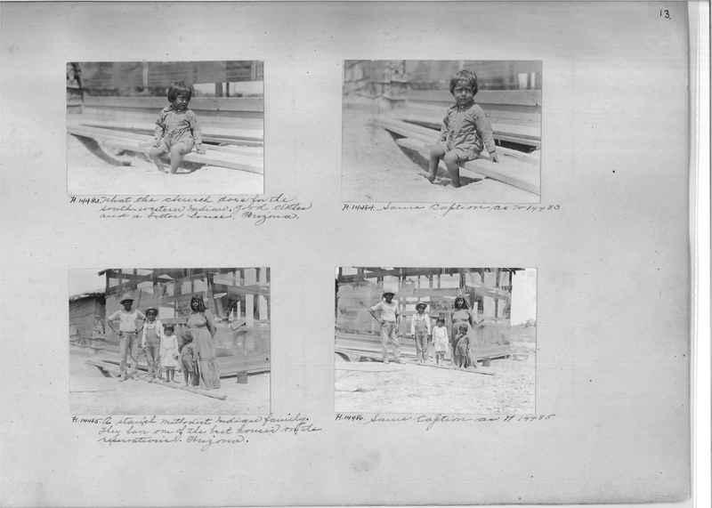 Mission Photograph Album - Indians #2 page_0013