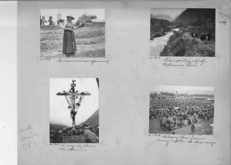 Mission Photograph Album - South America O.P. #2 page 0237
