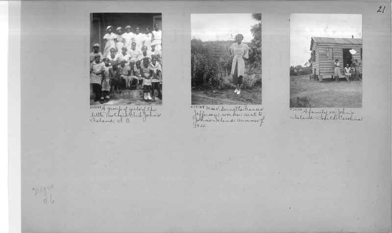 Mission Photograph Album - Negro #6 page 0021