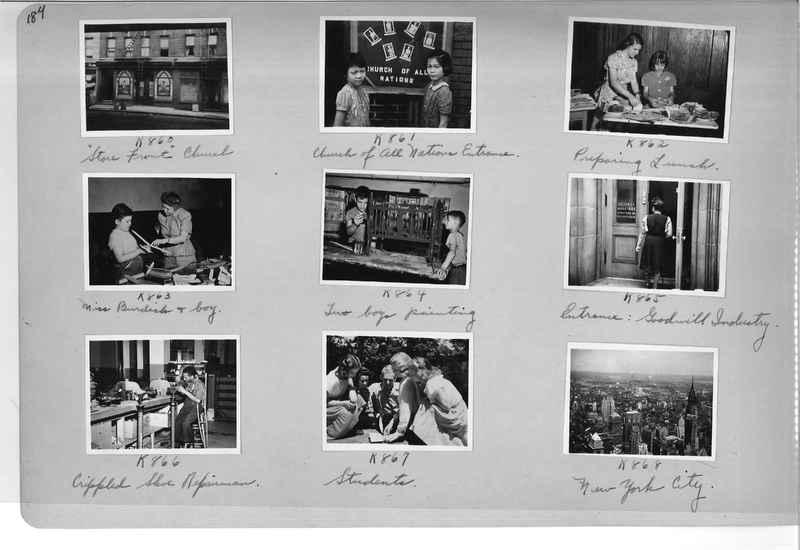 Mission Photograph Album - Cities #18 page 0184