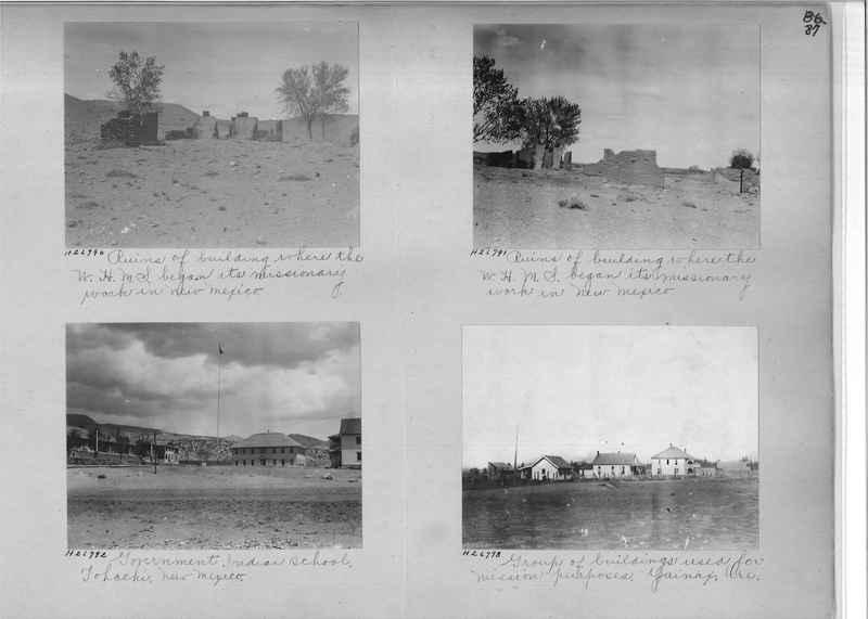Mission Photograph Album - Indians #2 page_0087