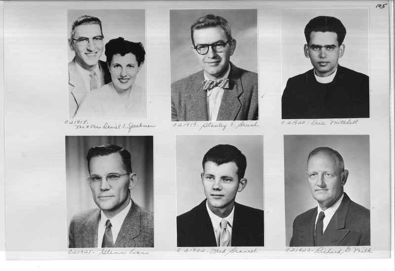 Mission Photograph Album - Portraits #10 Page 0105