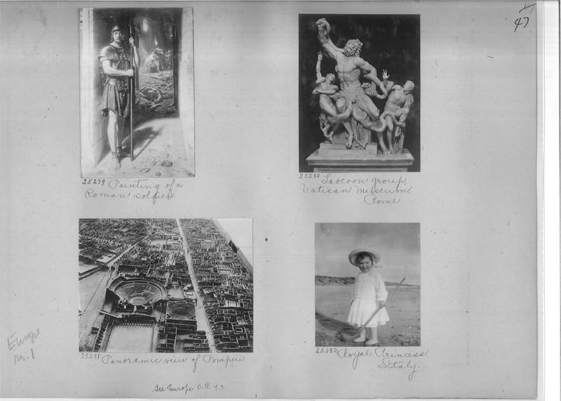 Mission Photograph Album - Europe #01 Page 0047