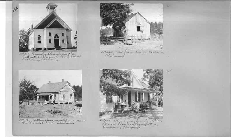 Mission Photograph Album - Negro #2 page 0192