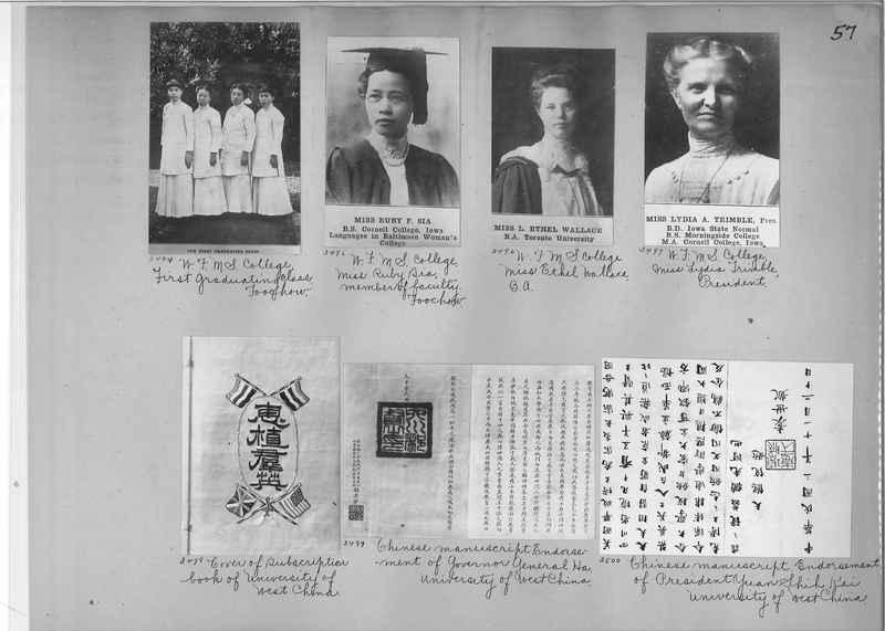 Mission Photograph Album - China #2 page  0057