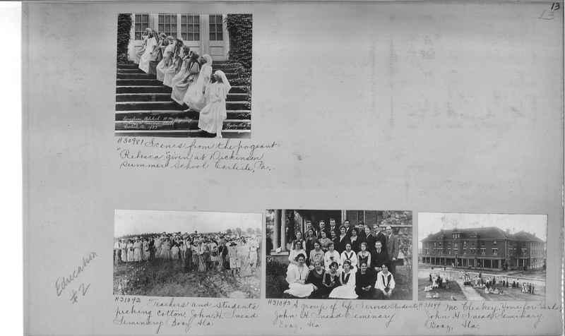 Mission Photograph Album - Education #2 page 0013