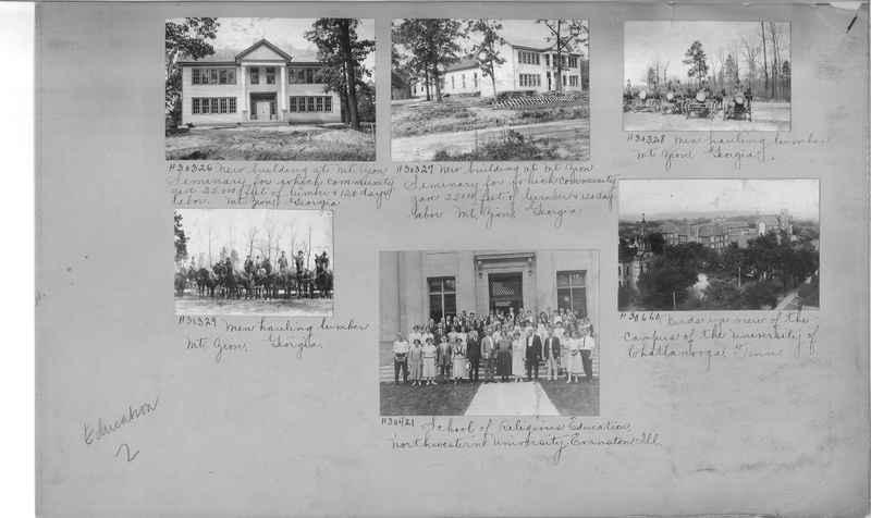 Mission Photograph Album - Education #2 page 0001