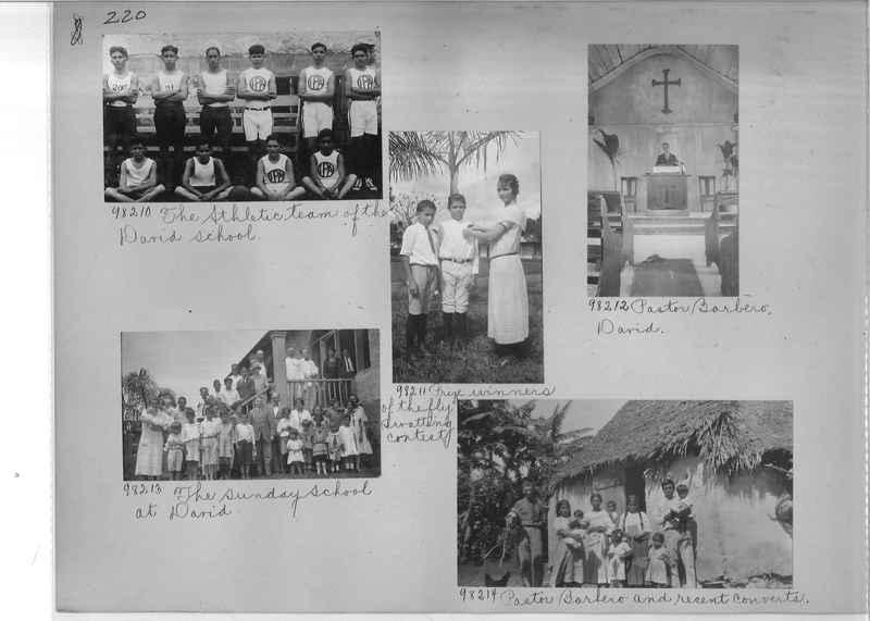 Mission Photograph Album - Panama #04 page 0220