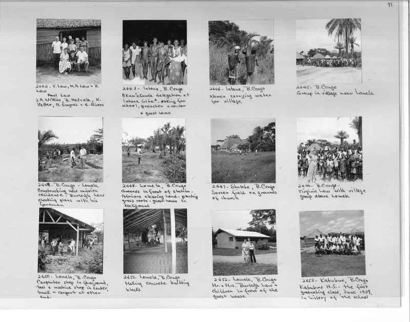 Mission Photograph Album - Africa #17 page 0071