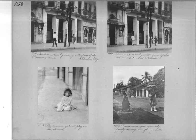 Mission Photograph Album - Panama #03 page 0158