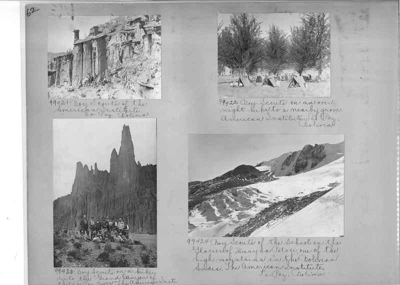 Misson Photograph Album - South America #8 page 0062